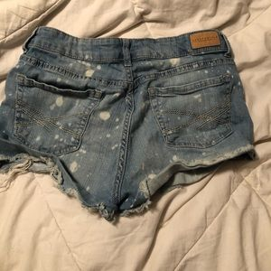 Aeropostale high waisted shorty shorts